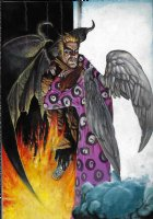 Simon Bisley Hellblazer Cover Issue 269 Page Cover Comic Art