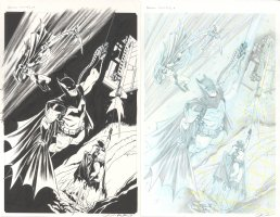 Batman Black and White Issue 05 Page 04 Comic Art