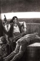Star Wars Han Solo Cover Issue 02 Page Cover Comic Art