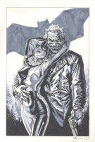 Joker and Harley Quinn Comic Art