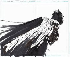 All Star Batman Cover Issue 09 Page Cover Comic Art