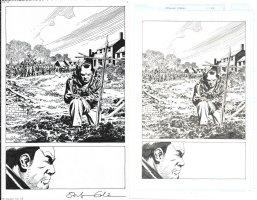 Walking Dead Issue 162 Page 02 Comic Art