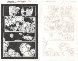Green Lantern New Guardians Issue 34 Page 05, Seller: Splash Page Comic Art, Price $150