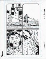 Savage Woverine Issue 22 Page 03 Comic Art