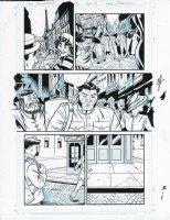 Savage Woverine Issue 22 Page 19 Comic Art