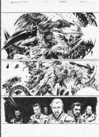 AVP Life and Death Issue 03 Page 02 Comic Art