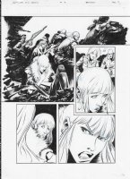 AVP Life and Death Issue 03 Page 03 Comic Art