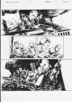 AVP Life and Death Issue 03 Page 08 Comic Art