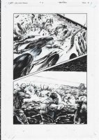 AVP Life and Death Issue 03 Page 10 Comic Art