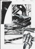 AVP Life and Death Issue 03 Page 12 Comic Art