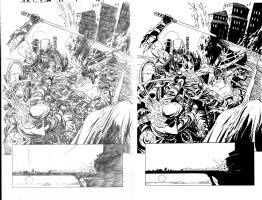 Deadpool Kills The Marvel Universe Again Issue 05 Page 14 Comic Art