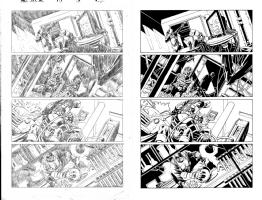 Deadpool Kills The Marvel Universe Again Issue 05 Page 06 Comic Art