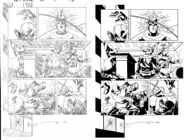 Deadpool Kills The Marvel Universe Again Issue 05 Page 09 Comic Art