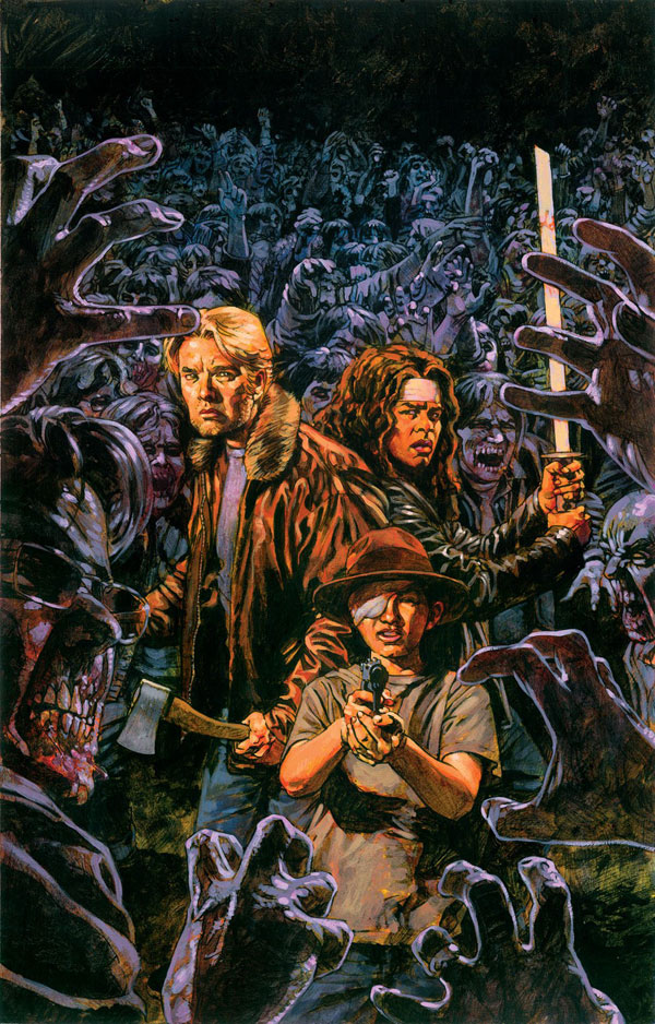 Sean Phillips Walking Dead 100 Painted Cover